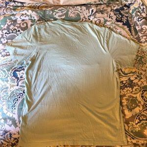 J. Crew Tops - J Crew broken in mint T-shirt Sz L